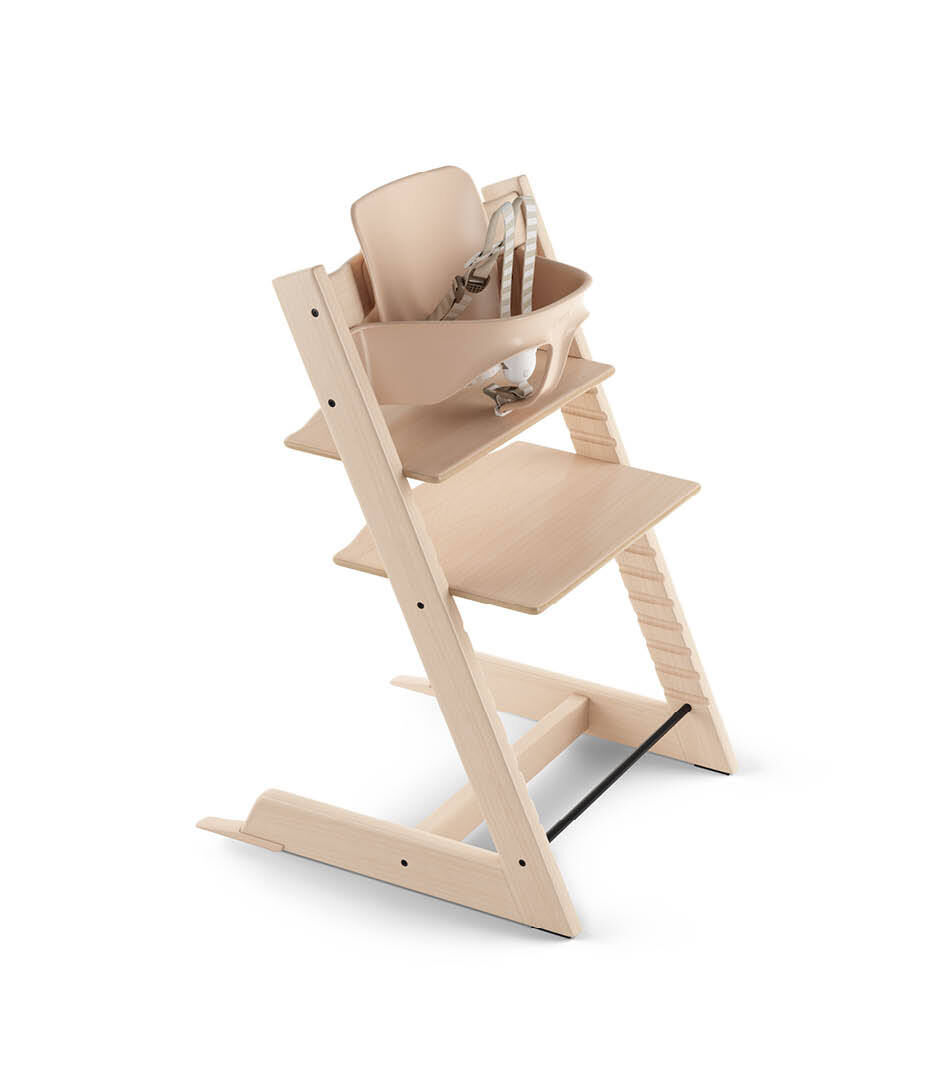 Stokke Tripp Trapp High Chair with Baby Set - Natural