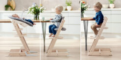 Scandinavian Styled High Chair that can be used from birth to adulthood