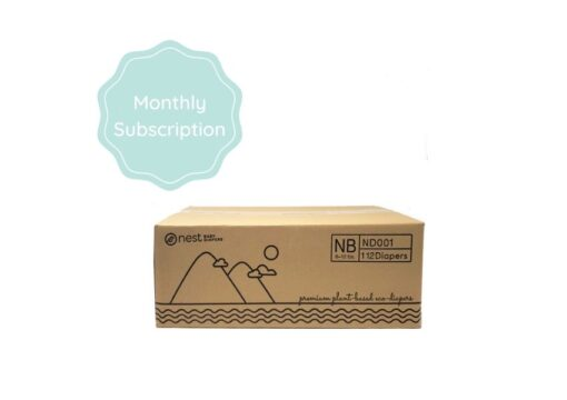 Nest Diapers Monthly Subscription