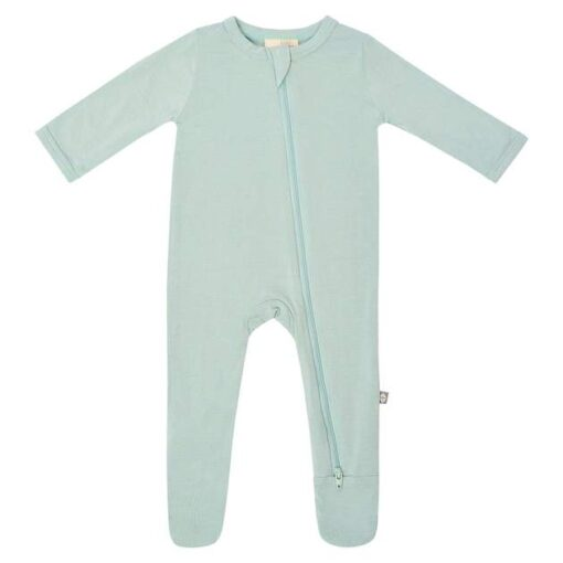 Kyte BABY Zippered Footie in Sage