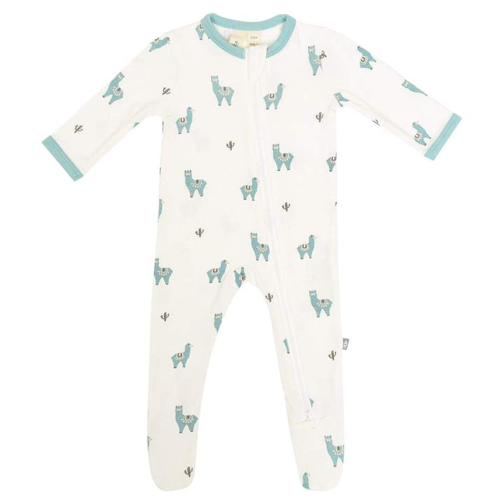 Kyte Baby Alpaca Print Zippered Footie Sleeper