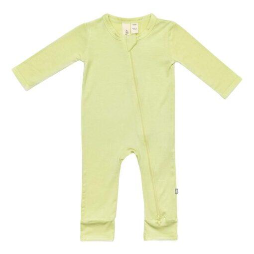 Kyte Baby Zippered Romper in Kiwi