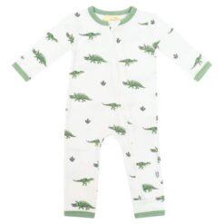 Kyte Baby Zippered Romper in Dino