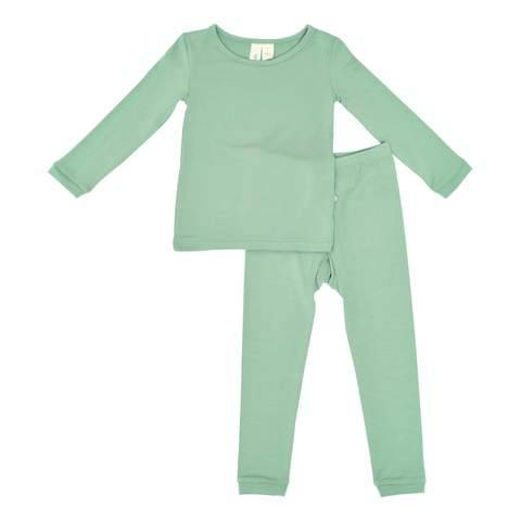 Kyte Baby Toddler Pajama Set in Matcha