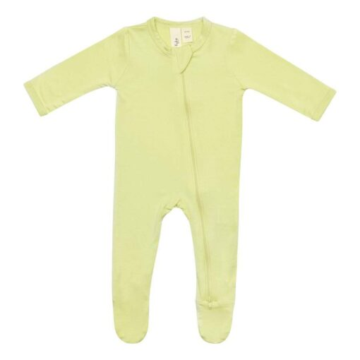Kyte Baby Zippered Footie in Kiwi
