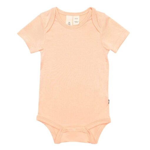 Kyte Baby Bodysuit in Papaya