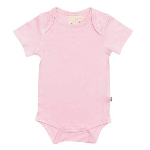Kyte Baby Bodysuit in Peony