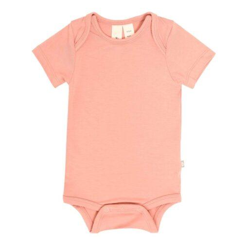 Kyte Baby Bodysuit in Terracotta