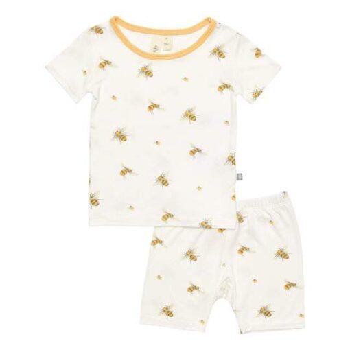 Kyte Baby Short Sleeve Pajama Set in Buzz