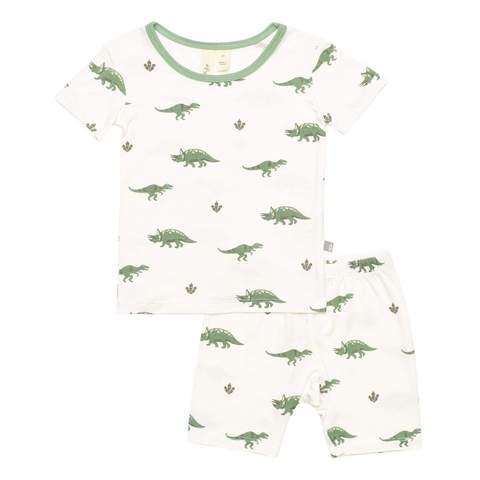 Kyte Baby Short Sleeve Pajama Set in Dino