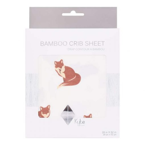 Kyte BABY Crib Sheet in Fox