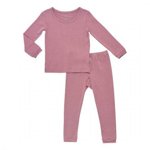 Kyte BABY Toddler Pajama Set in Mulberry