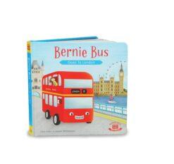Bernie Bus Goes to London Board Book Indigo Jamm