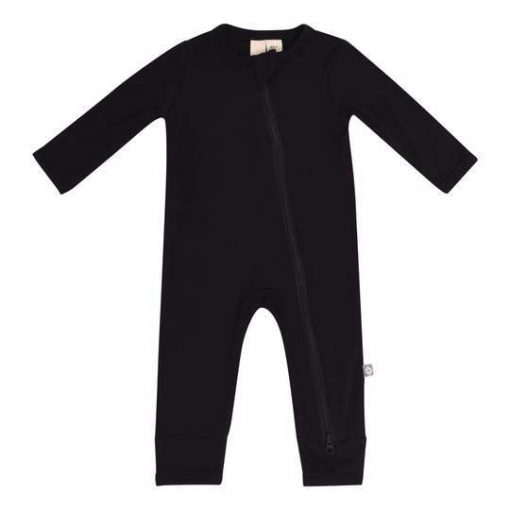 Kyte BABY Zippered Romper in Midnight