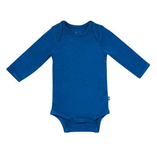 Kyte BABY Long Sleeve Bodysuit in Sapphire