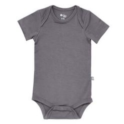 Kyte BABY Bodysuit in Charcoal