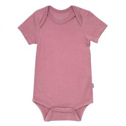 Kyte BABY Bodysuit in Mulberry