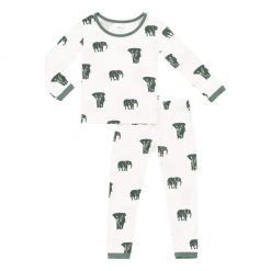 Kyte BABY Toddler Pajama Set in Elephant