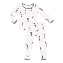 Kyte BABY Toddler Pajama Set in Sea Horse