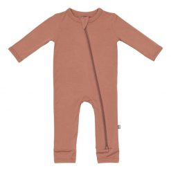 Kyte BABY Zippered Romper in Spice