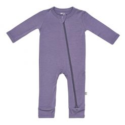 Kyte BABY Zippered Romper in Orchid