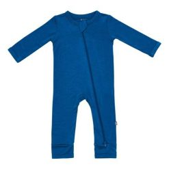 Kyte BABY Zippered Romper in Sapphire