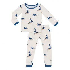 Kyte BABY Toddler Pajama Set in Whale