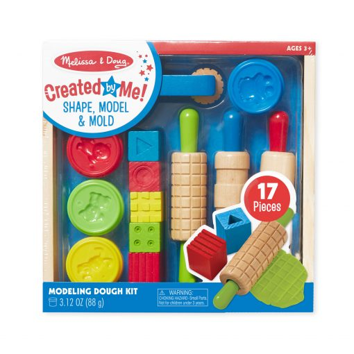 Melissa & Doug Created by Me! Shape, Model & Mold Modeling Dough Kit