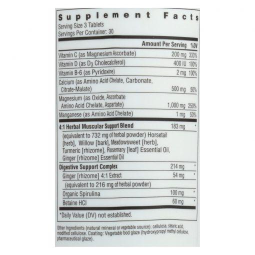 Magnesium Calcium Supplement by Rainbow Light for Low Milk Supply