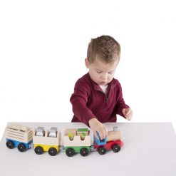 Toy train set for kids