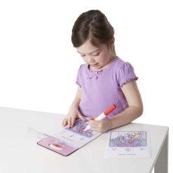 Princes coloring pad