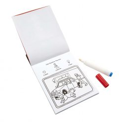 vehicles coloring pad