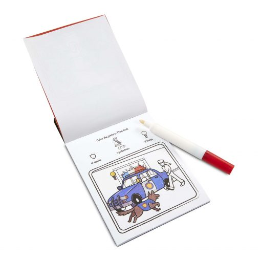 no mess coloring pad for kids