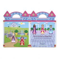 Princess sticker set backdrop