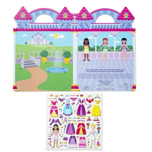 Princes reusable puffy sticker set