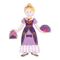 Princess reusable puffy sticker
