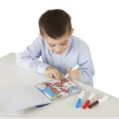 Game and activity coloring pad