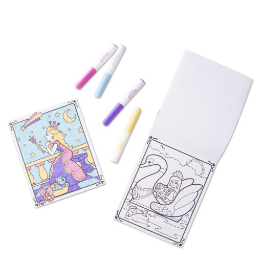 Magical coloring princes pad