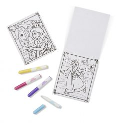 Visible ink coloring pad