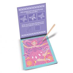 Color reveal pad fairy tales