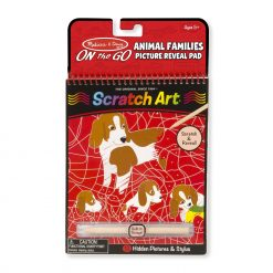 Melissa & Doug Animal Families Hidden-Picture Pad