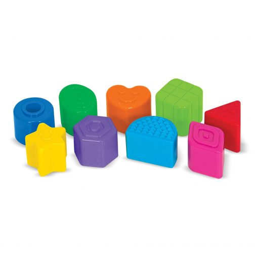 Shape sorting travel toy