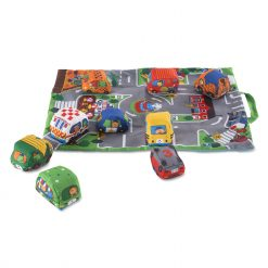 Travel play mat unfolded