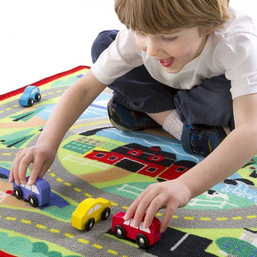 Town rug play mat