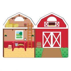 Farm sticker set backdrop