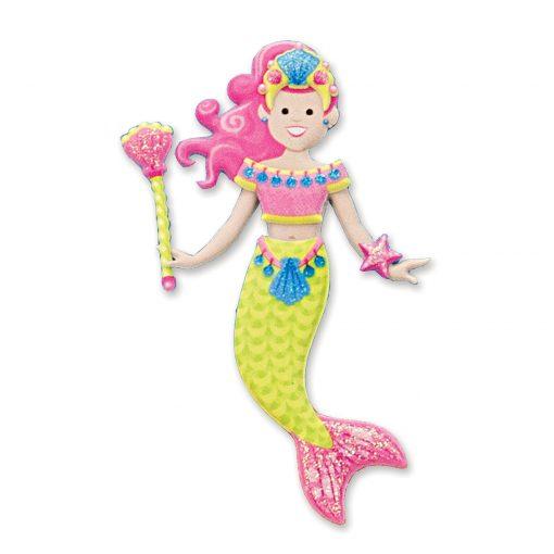Mermaid reusable sticker
