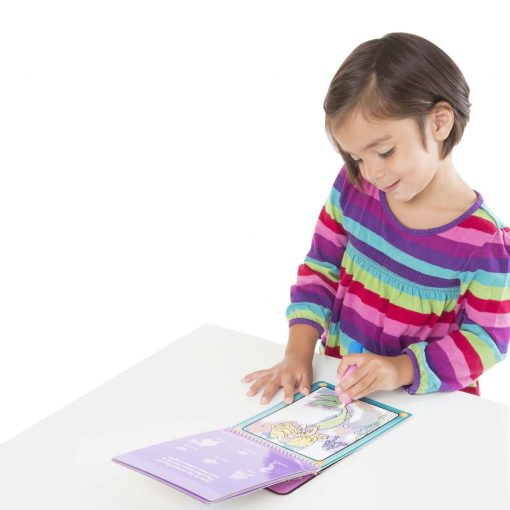 Reusable water coloring pad