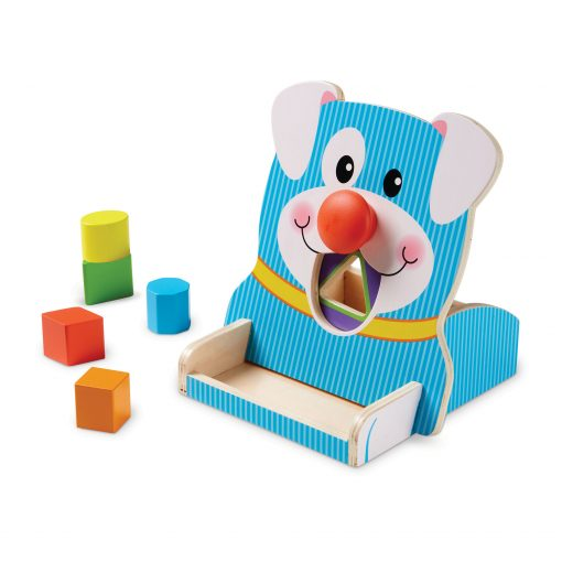 spin and play puppy shape organizer