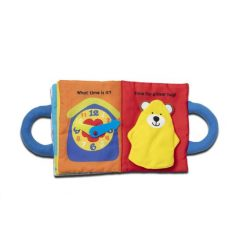 Baby and Toddler Activity Book with Buttoning, Buckling, Peek-a-boo, Counting, Matching, Telling Time and More from Melissa & Doug