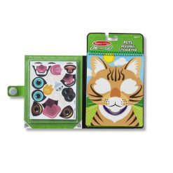 Melissa & Doug Make-a-Face Pets Reusable Sticker Pad